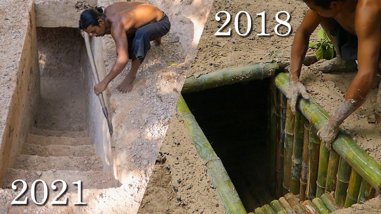 Secret Underground Built in 2018 vs 2021