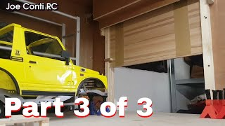 Motorised 1/10th scale garage door build - Part 3 of 3 - Episode 4