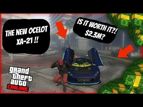 GTA 5 Online | NEW OCELOT XA-21 : IS IT WORTH BUYING ? | CAR SPENDING SPREE $3,000,000 !!!