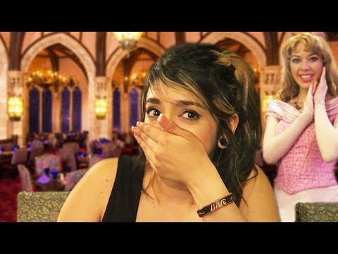 DINNER INSIDE CINDERELLA'S CASTLE SURPRISE!! - CINDERELLA'S ROYAL TABLE - Walt Disney World