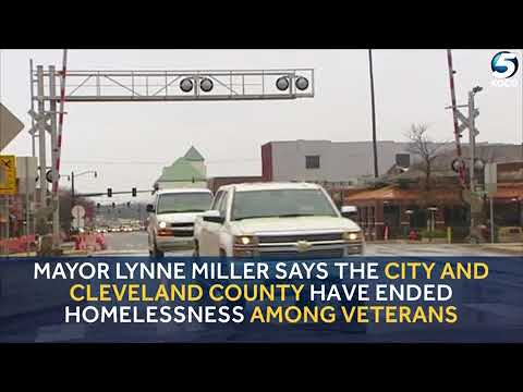 Mayor says Norman, Cleveland County has resources to house city's homeless vets