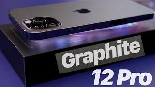 iPhone 12 Pro Graphite /black Unboxing!!!
