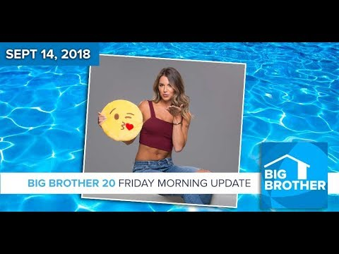 BB20 | Friday Morning Live Feeds Update - Sept 14, 2018