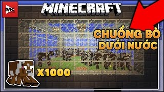 Xây Chuồng Nuôi Bò Dưới Biển Nước A-Xít Trong Server Minecraft : sv.mclcgames.com | MK Gaming