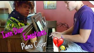 Iann Dior - Emotions piano cover