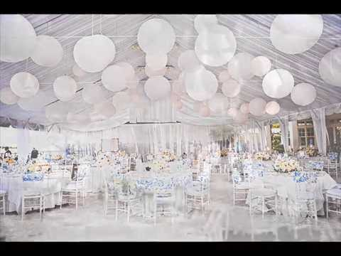 DIY White Out Wedding Theme Its A Nice