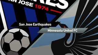 San Jose Earthquakes vs Minnesota United FC full match