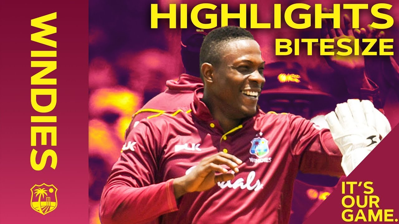 Windies vs India 1st IT20 2019 | Bitesize Highlights