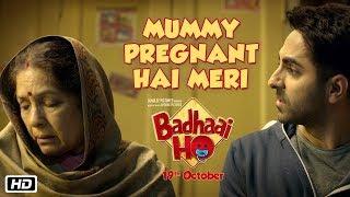 Mummy Pregnant Hai Meri | Badhaai Ho | In Cinemas 18th October 2018