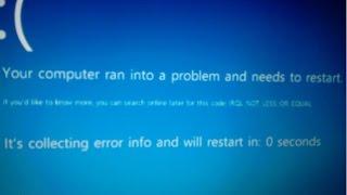 Fix driver_irql_not_less_or_equal error on windows 7/8/10