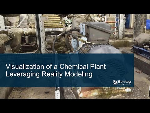 Visualization of a Chemical Plant Leveraging Reality Modeling