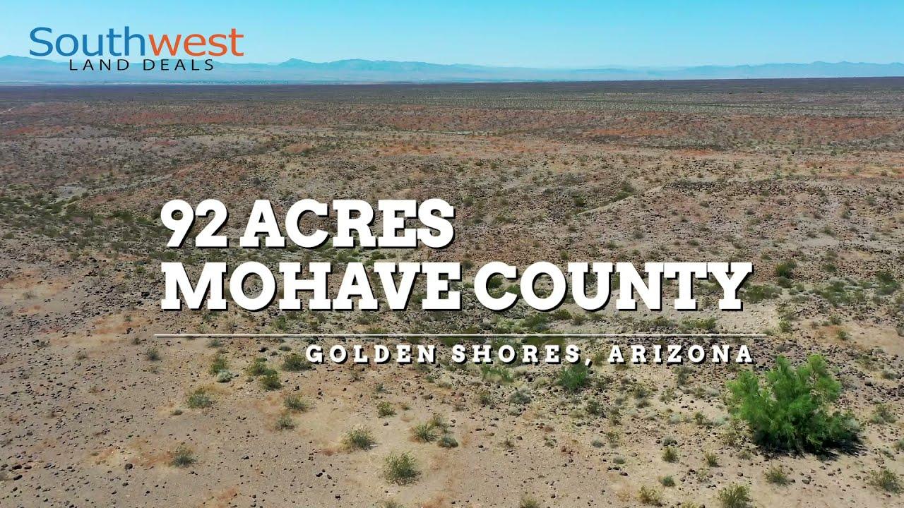 90+ Acres Near Lake Havasu City, AZ (0303-2021-AZMOH)
