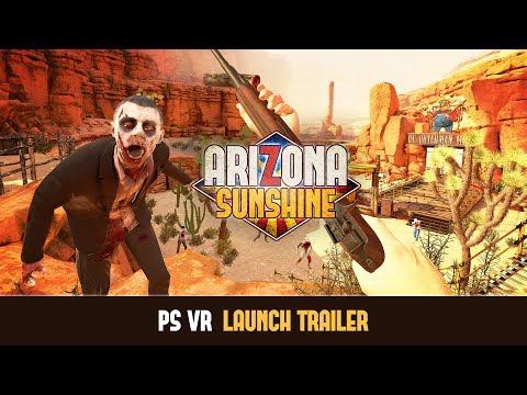 Arizona Sunshine - PS VR Launch Trailer (EU)