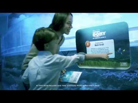 Explore Dory's World At SEA LIFE Sydney Aquarium