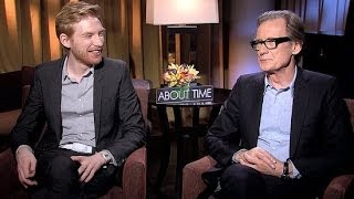 How Bill Nighy and Domhnall Gleeson Would Use Time Travel | POPSUGAR Interview