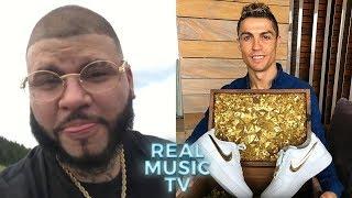 """Farruko Recibe Regalo De Cristiano Ronaldo INCREÍBLE!! l Nicky Jam """"Aquí No Me Conocen"""" Y Más"""