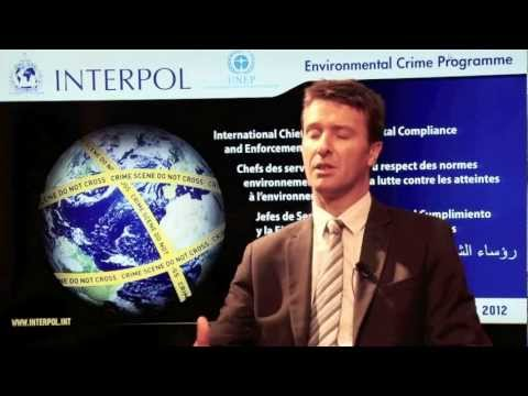 David Higgins, Manager of INTERPOL's Environmental Crime Programme