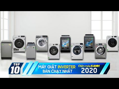 Top 10 máy giặt Inverter bán chạy nhất Điện máy XANH 2020