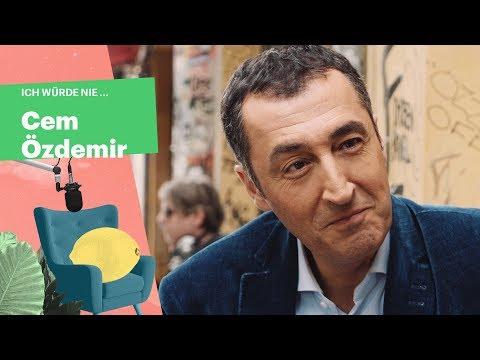 """""""Ich würde nie ..."""" mit Cem Özdemir (DIE GRÜNEN)"""