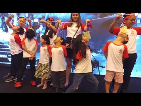 Upacara dan Perayaan HUT Republik Indonesia ke 72 di Shanghai, RRT
