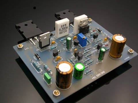400watts Power Amplifier Construction Based On 2sc