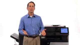 HP M880 Color LaserJet MFP Series Overview