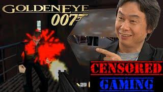 GoldenEye 007 Censorship - Censored Gaming