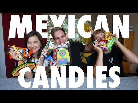 TRYING MEXICAN CANDY ft. ALE IVANOVA
