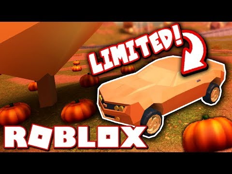 Download Youtube: NEW LIMITED EDITION CAR!! *FALL UPDATE IS HERE!* (Roblox Jailbreak)
