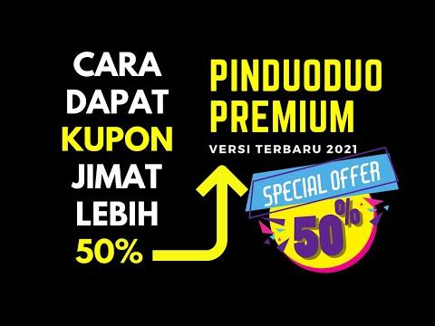 Pinduoduo Premium - Rahsia Dapat Kupon Percuma Jimat Lebih 50% Part 6/10