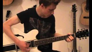 Skylark Stripe Semi-acoustic Guitar (www.skylarkguitars.com)