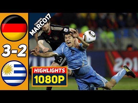 🔥 Германия - Уругвай 3-2 - Обзор Матча за 3 место Чемпионата Мира 10/07/2010 HD 🔥
