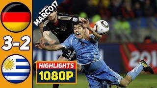 Германия Уругвай 3 2 Обзор Матча за 3 место Чемпионата Мира 10 07 2010 HD