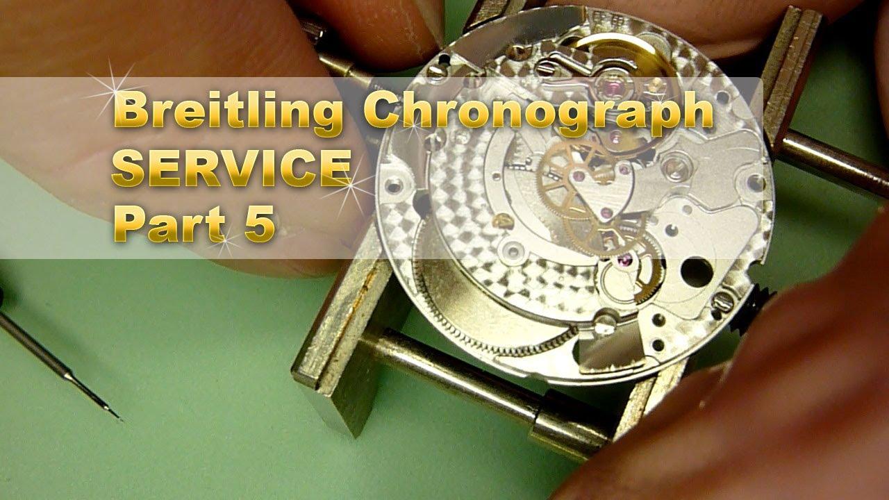 Breitling For Bentley >> Service a Breitling Chronograph. Part 5. ETA 2892-A2 Re ...