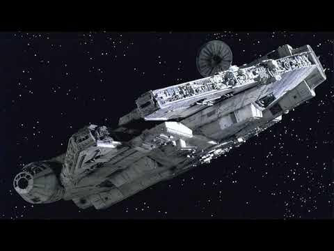 """ThatPieceOfJunk"" Falcon  - A New Hope - TIE Fighter Attack -"