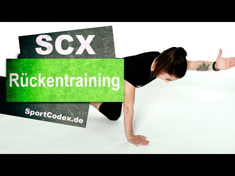 Rückentraining sanft | 45 Minuten | Live: Mittwoch, 15.04.2020 | 10:00Uhr #SportCodex