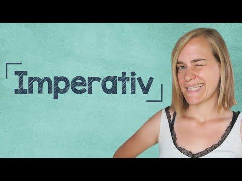 German Lesson (125) - Der Imperativ + QUIZ - Komm her! - Hilf mir! - Guck mal! - A2