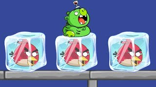 Angry Birds Frozen - DRAWING WAY TO GIVE ANGRY BIRDS CLEAN WATER!