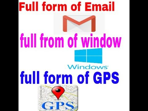 daily gk, full form of www, email, gps, gk update, ias questions