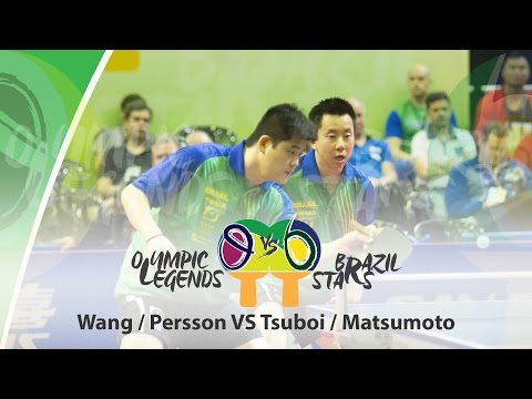 Olympic Legends vs Brazil Stars Matsumoto/Tsuboi (BRA) vs Wang/Persson