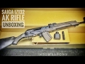 Saiga 7.62x39 AK Rifle:  Unboxing & Overview