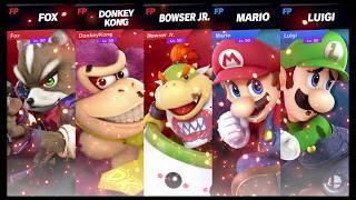 Super Smash Bros Ultimate Amiibo Fights   Request #7819 Sly Cooper Gang vs Mario Bros