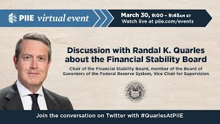 Discussion with Randal K. Quarles about the FSB