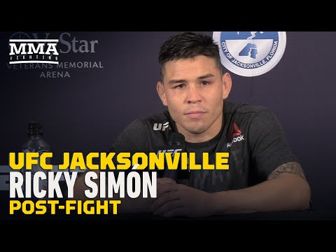 UFC Jacksonville: Ricky Simon Signed New 4-Fight Deal Ahead Of Win Over Ray Borg - MMA Fighting