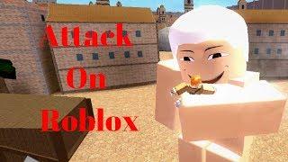 Ataque em Titã-Roblox Montage