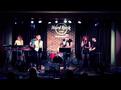 THE BAND @ HARD ROCK CAFE - FORGET YOU (CEE LO GREEN COVER)