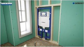 Badkamer renoveren met Geberit Duofix UP720 ruimtebesparend