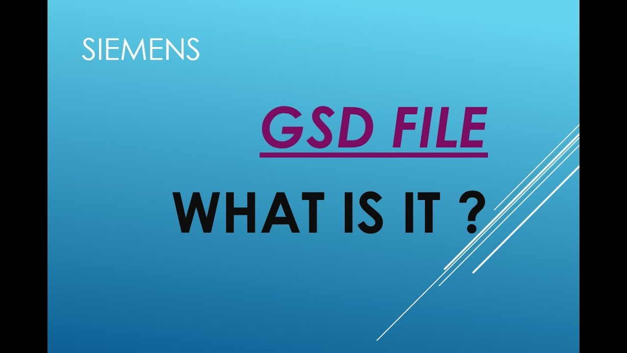 GSD File in TIA PORTAL    WHY use it , HOW and WHEN ?