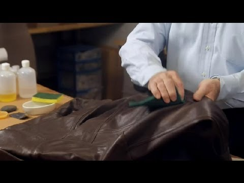 How Do I Age a Leather Jacket? : Leather & Fabric Care