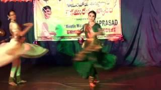 KATHAK Tarana Darbari. Choreography by Raghav Raj Bhatt. (P.t.Birju Maharaj music)